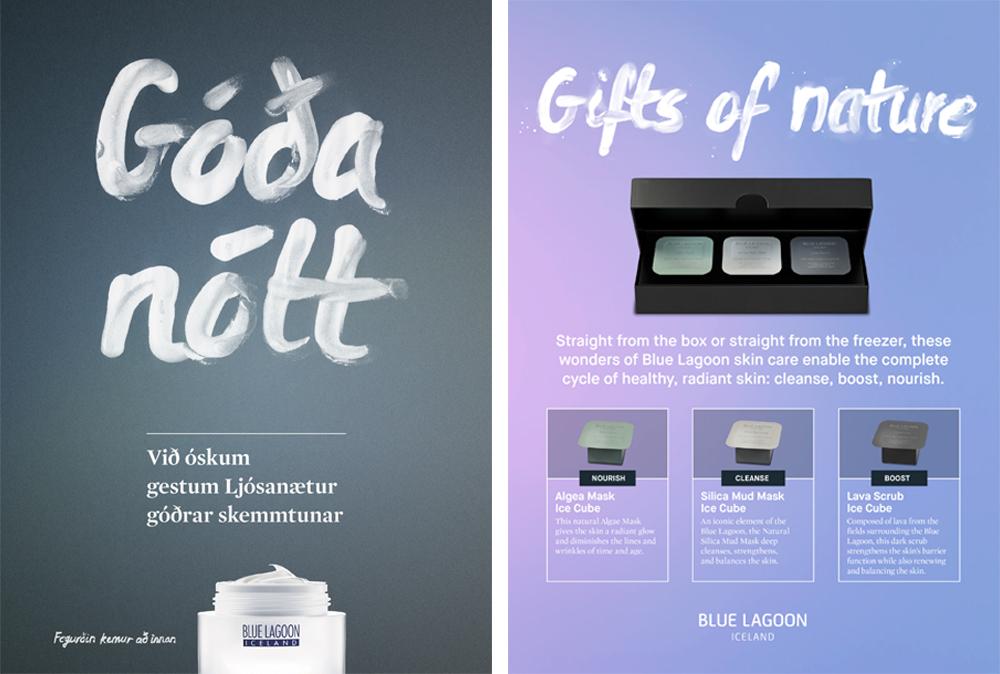 Clea Lautrey | Graphic Design | Blue Lagoon Skincare Iceland