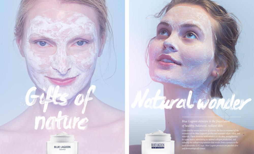 Cléa Lautrey | Graphic Design | Blue Lagoon Skincare Iceland