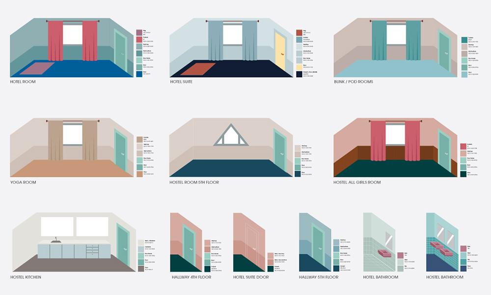 Clea Lautrey | Interior Design | ODDSSON Ho(s)tel Reykjavik Iceland