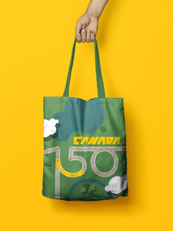 Canadian Souvenir | Tote Bag | Canada 150th Anniversary