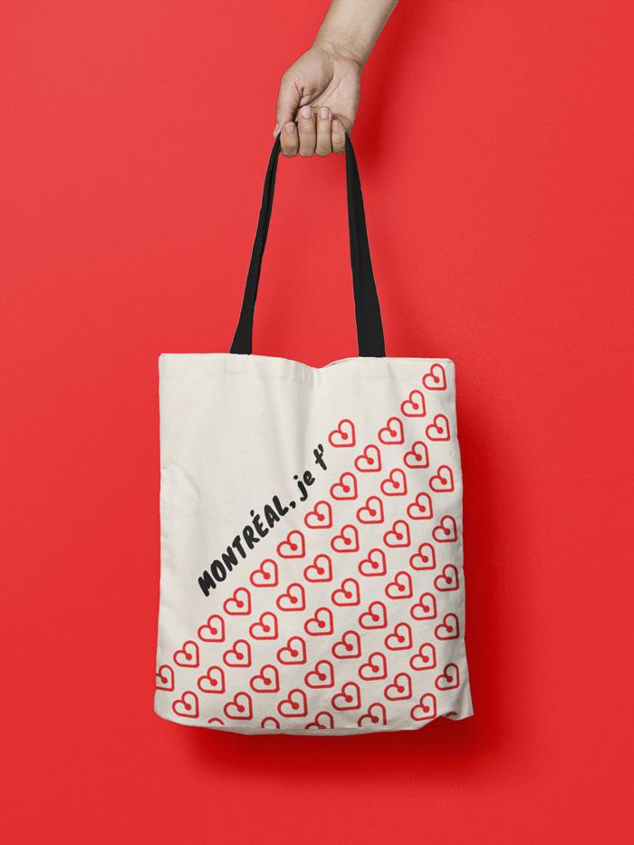 Montreal Souvenir | Tote Bag | I love MTL
