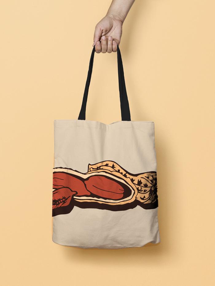 Montreal Souvenir | Tote Bag | Squirrels & Peanuts