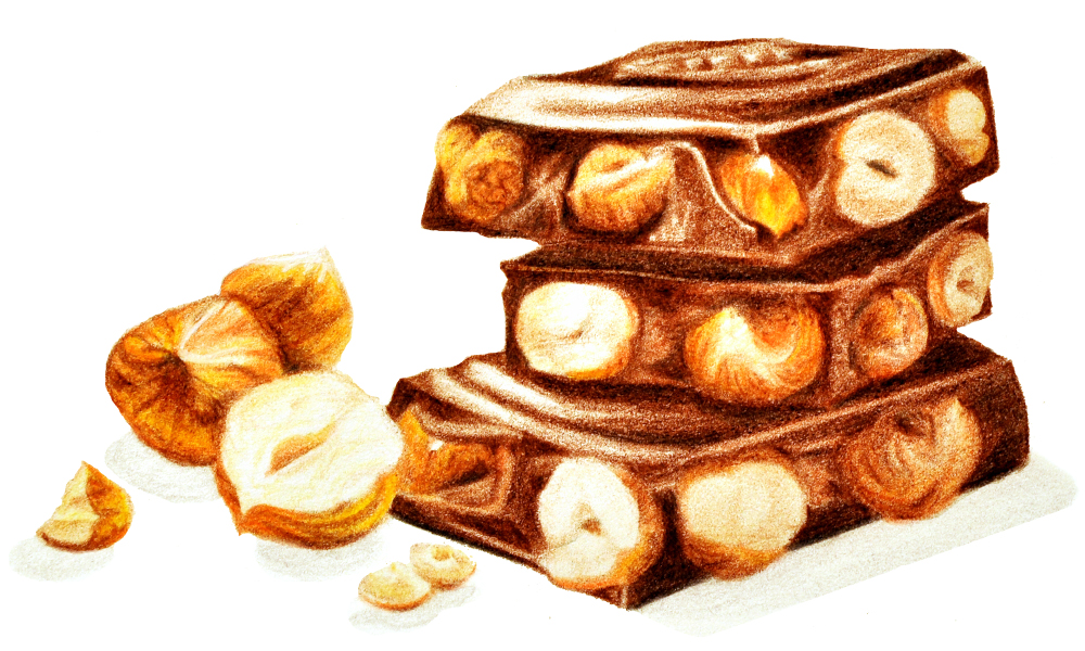 Pencil Drawing | Nestle Chocolate