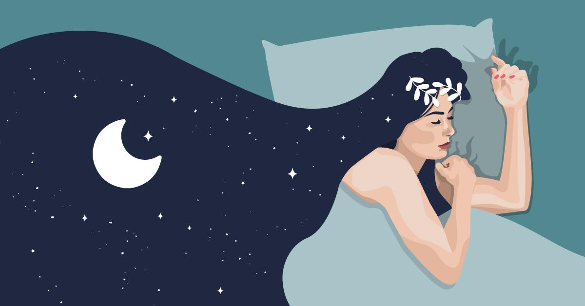 Digital Art | Sleep | Night sky