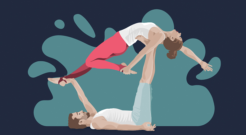 Digital Art | Health | Yoga