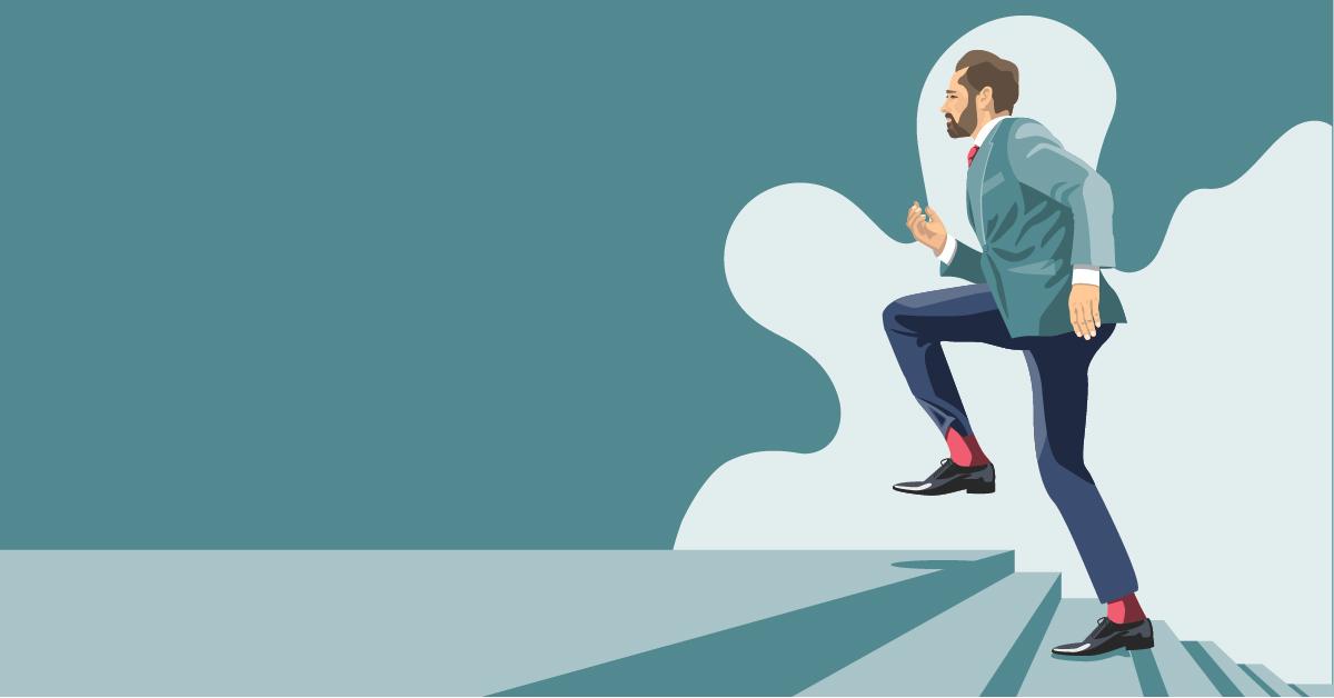 Digital Art | Health | Man Running