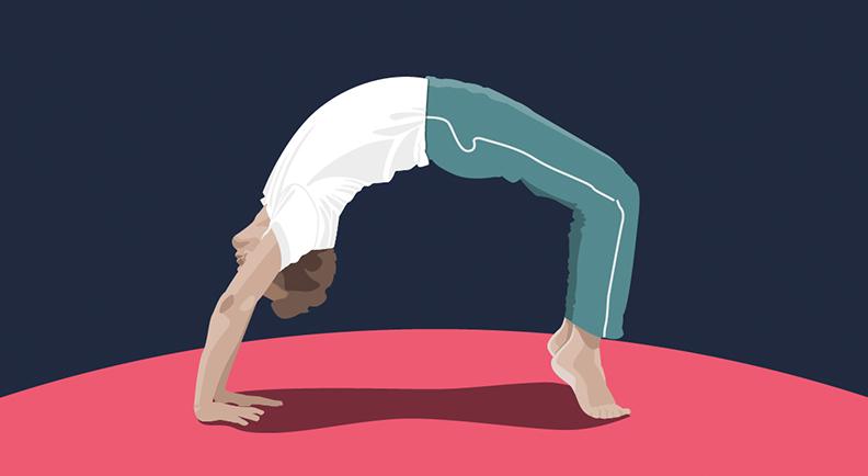 Digital Art   Health   Yoga
