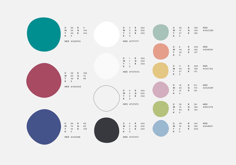 Clea Lautrey | Graphic Design | Brand Colours
